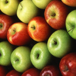How many calories in apples?