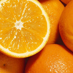 How many calories in orange?