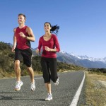 How many calories burned while running