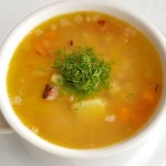 Calories in split pea soup