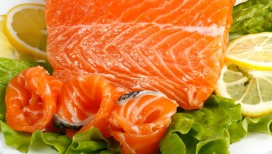 calories in salmon fillet