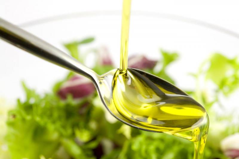 calories in vegetable oil