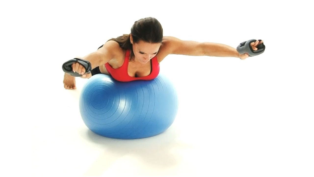 Exercises on the fitball for losing weight - FineDiets