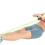 Exercises with expander for women