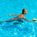 Exercises in a pool for weight loss
